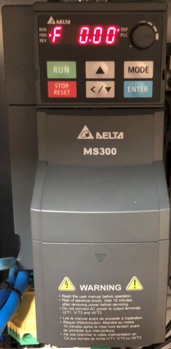 Delta VFD MS300 Instal   MachMotion