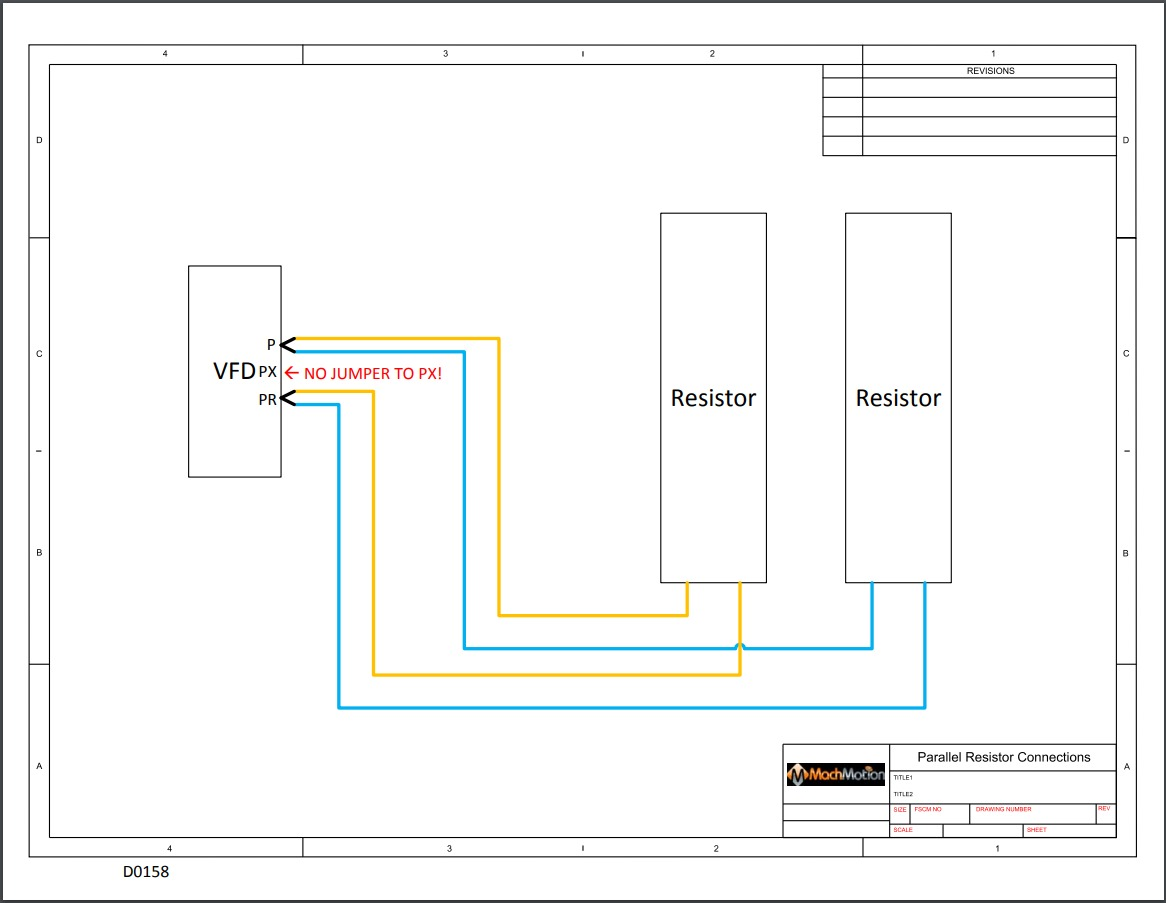 Vfd Panel Wiring Diagram Also Available For Download In Pdf Format Here Mitsubishi D700 Parallel Braking Resistors