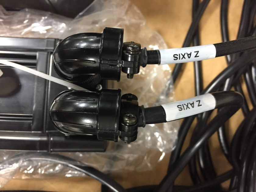 Encoder and Power Cables