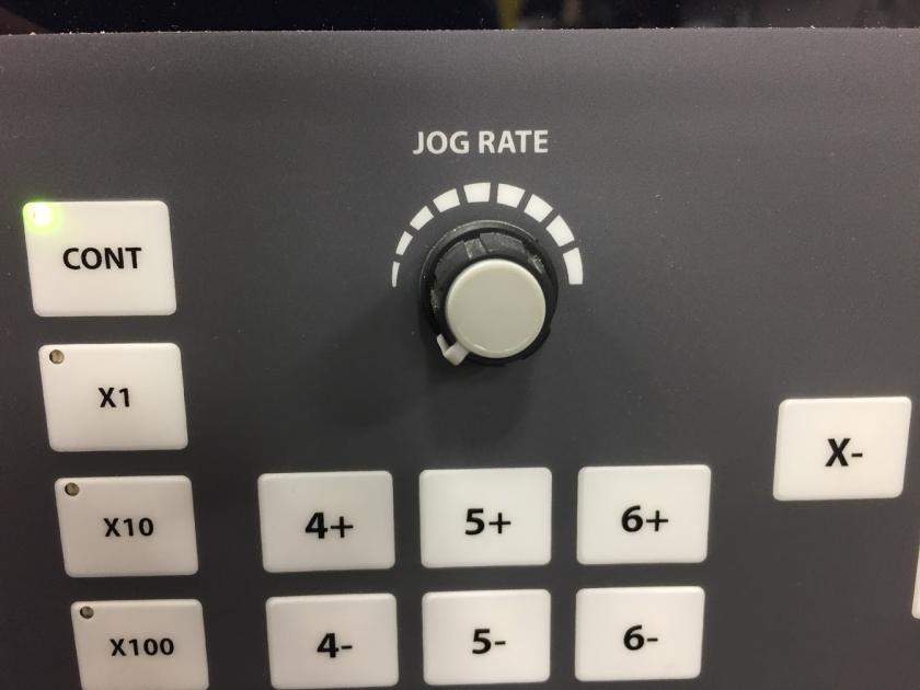 Jog Rate